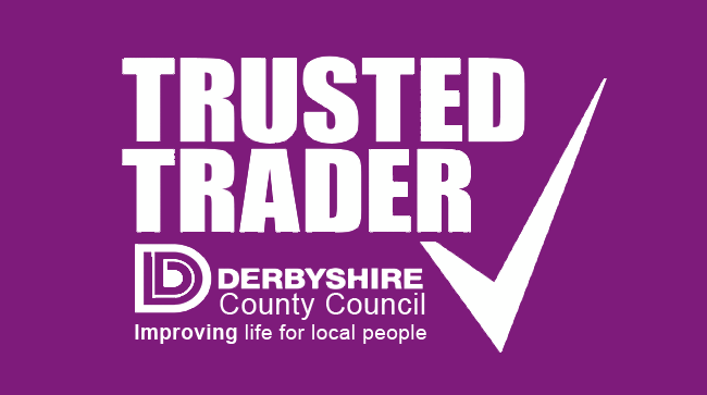 derbyshire trusted trader logo