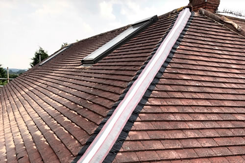 roofing dry ridge systems fitted in ayr