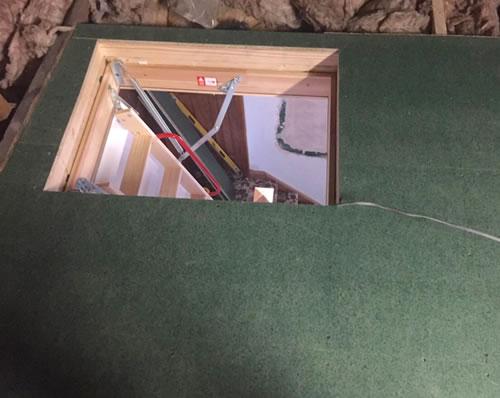 loft ladder installation ayr